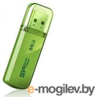 Silicon Power 64Gb Helios 101 SP064GBUF2101V1N USB2.0 зеленый