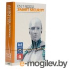 ПО ESET NOD32 Smart Security - лицензия на 1год на 3ПК (NOD32-ESS-1220(BOX)-1-1)