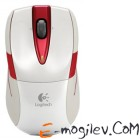 Logitech Wireless Mouse M525 White-Red USB