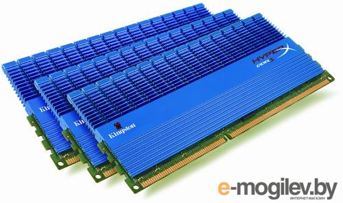 Kingston DDR3-1600 3x2Gb PC-12800
