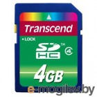 Transcend SDHC Card 4Gb TS4GSDHC4 Class 4