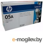 HP CE505A black