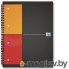 Тетрадь Oxford International Filingbook 100100739/357001501 А4+ 100л клет полипроп. с 3 съемн. Разд