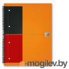 Тетрадь Oxford International Notebook 100104036/357001202 А4+ 80 л линейка лам. картон дв. спираль
