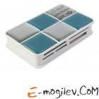 Картридер USB 2.0 - PC PET [CR-217CBL] 24 in 1 Choco Blue