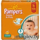 Подгузники. PAMPERS  Sleep & Play Midi 3 4-9 кг 100шт