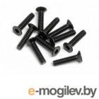 Крепеж. FLAT HEAD SCREW M2.5x12mm (HexSocket/10pcs).