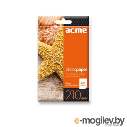 ACME Photo Paper A6 (10x15cm) 210 g/m2 20pack Glossy