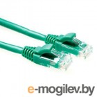 Patch cord UTP 5 level 2m   Зеленый