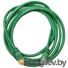 Patch cord UTP 5 level 5m   Зеленый
