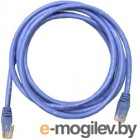 Patch cord UTP 5 level 5m   Синий