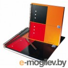 Тетрадь Oxford International Notebook 100101849/357001211 А5+ 80л клетка ламин. картон дв. спираль