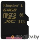 Kingston Class10 без адаптера (SDCA10/64GBSP) MicroSDXC 64GB