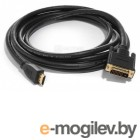 Telecom HDMI to DVI-D Single  Link  (19M  -19M) 2м