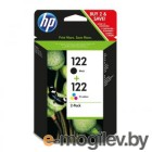 HP122 Black/Tri-color cyan/magenta/yellow CR340HE