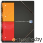 Тетрадь Oxford International Meetingbook 100100362/357001701 А4+ 80л клет с 3 клапан на рез дв.спир