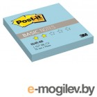 3M 654R-BB Post-it Basic голубой 76х76мм 100л