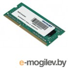 Модуль памяти SO-DIMM DDR3 Patriot 2Gb 1600MHz [PSD32G1600L81S] 1.35V