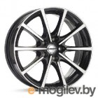 Borbet 8.0X17 5/114.3 ET40 D72.5 BL5 black polished литой