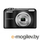 Фотоаппарат Nikon Coolpix A10 Black <16Mp, 5x zoom, SD, USB, 2.7>