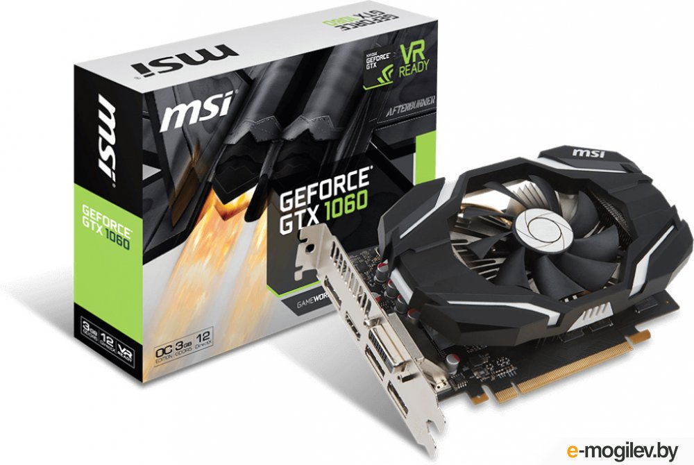 MSI GeForce GTX 1060 3G OC Retail