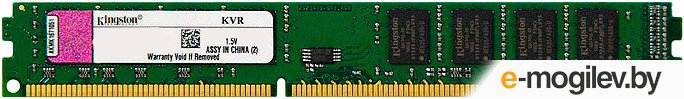 Kingston DDR3-1333 2048Mb PC-10660 KVR1333D3S8N9/2G