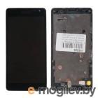дисплей в сборе с тачскрином для Nokia Lumia 535, черный