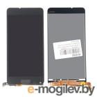 дисплей в сборе с тачскрином для Nokia Lumia 640, черный
