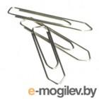 Скрепки Deli E39719 металл треугольник 28мм (упак.:100шт) картонная коробка