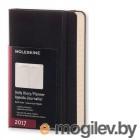 Moleskine CLASSIC DAILY POCKET 90x140мм 400 фиксирующая резинка черный