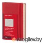 Moleskine CLASSIC DAILY POCKET 90x140мм 400стр. фиксирующая резинка красный