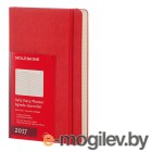 Moleskine CLASSIC DAILY LARGE 130х210мм 400стр. фиксирующая резинка красный