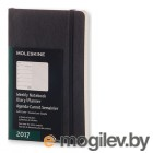 Moleskine CLASSIC WKNT POCKET SOFT 90x140мм 144стр. мягкая обложка черный