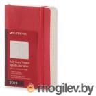 Ежедневник Moleskine CLASSIC DAILY POCKET SOFT 90x140мм 400стр. мягкая обложка красный