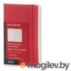 Еженедельник Moleskine CLASSIC WKNT POCKET SOFT 90x140мм 144стр. мягкая обложка красный