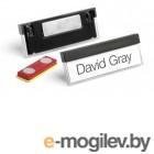 Бейдж Durable 8505-01 Select 17x67мм горизонтальный магнитный черный (упак.:25шт)