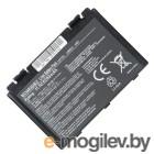 Аккумулятор для Asus K40, K50, K70, F82, X5, 4400mAh, 11.1V