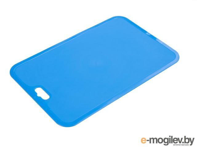 Доска разделочная Flexi (Флэкси), синий, BEROSSI (Изделие из пластмассы. Размер 330 x 214 x 2 мм) (ИК08529000)