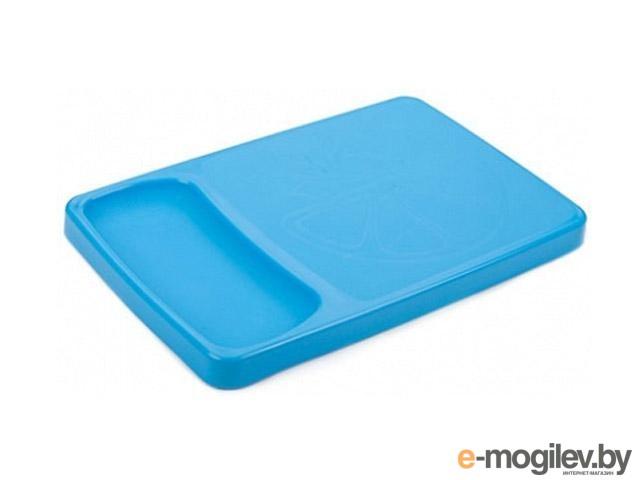 """Доска разделочная с лотком """"Kleo"""" , голубая лагуна, BEROSSI (Изделие из пластмассы. Размер 372 х 243 х 27 мм) (ИК20747000)"""