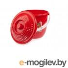 Ведро Berossi Practic Lux ИК 15146000 (красный)