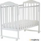Детская кроватка СКВ Березка 120111 белый