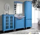 Шкаф-пенал для ванной Bliss Версаль 2Д 0454.6 голубой