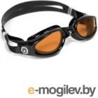 Очки для плавания Aqua Sphere Kaiman 171120 янтарный/черный