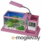Аквариумный набор Aquael Desk Mini 222901 розовый
