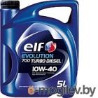 ELF 10W40 5L МАСЛО МОТОРНОЕ EVOLUTION 700 TURBO DIESEL  ACEA: A3/B4 API: SN/CF REN Diesel