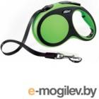 Поводок-рулетка Flexi New Comfort L 5m ремень зеленый