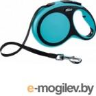 Поводок-рулетка Flexi New Comfort M 5m ремнень синий