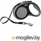 Поводок-рулетка Flexi New Comfort M 5m ремень серый