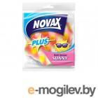 Губка банная Sunny 1шт NV Plus (Материал: Пенополиуретан. Цвет: Трехцветная. Размер единицы: 112 x 102 x 66 мм) (0502NVP) (NOVAX)
