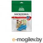 Микрофибра для стекол и зеркал 1шт DOMI (Размер салфетки: 35*35см) (5027DI)